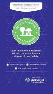 Mallinckrodt Donates Drug Deactivation Pouches to Help Families
